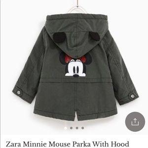 Zara Minnie Mouse Jacket